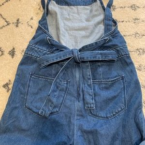 Universal Thread Pants - Wide leg cropped overalls
